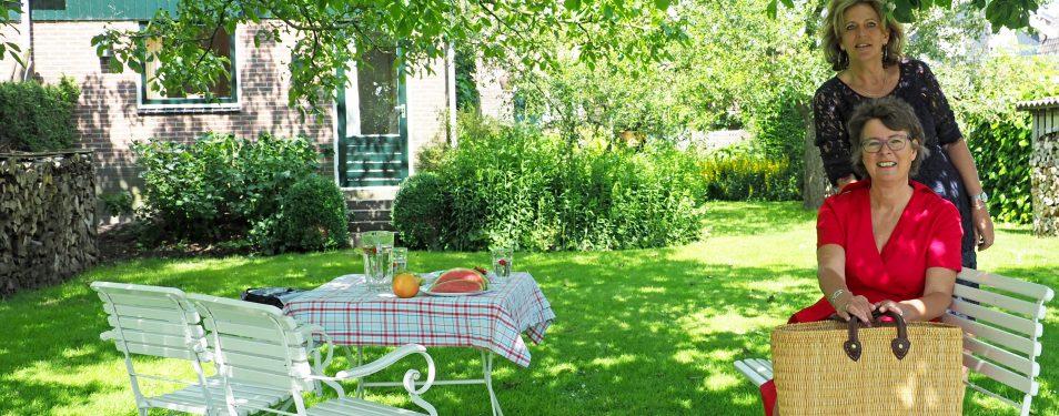 Mooi weer… lekker buiten eten